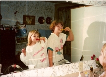 "The importance of dental hygiene was ""drilled"" into my sister and I from birth."