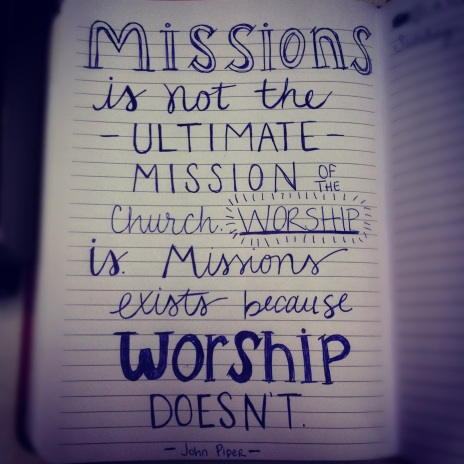 Missions, John Piper