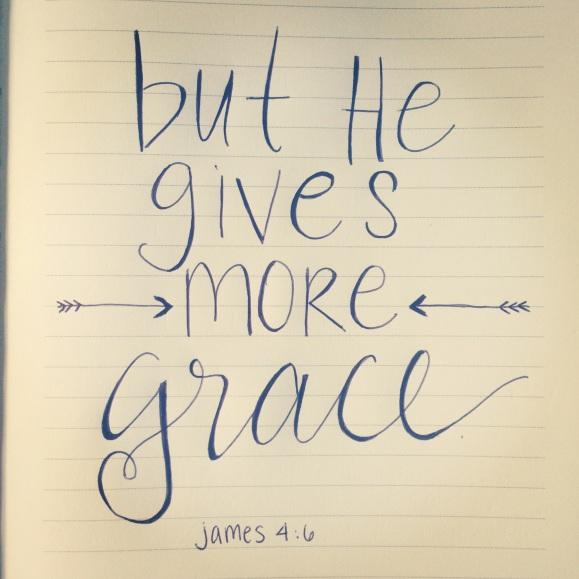 more grace.