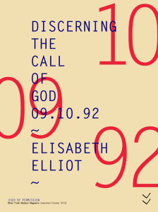 Elisabeth Elliot Call of God