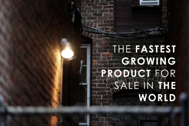 The fastest growing product for sale in the world